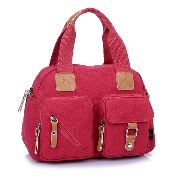 Women Multi-pocket Large Capacity Handbag Shoulder Bags Crossbody Bags