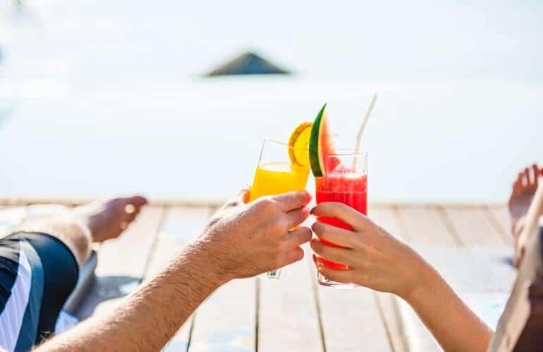 bebidas sin alcohol para fiestas mocktails