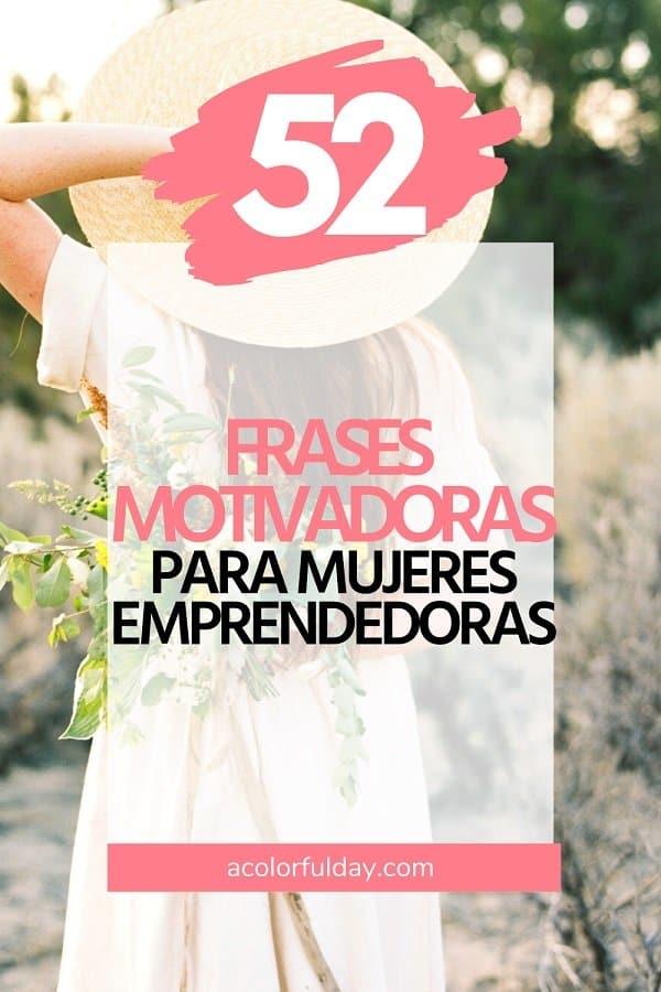 frases de motivación para mujeres emprendedoras